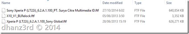 (12) ftf file